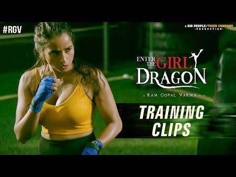 Enter The Girl Dragon Training Clips- RGV