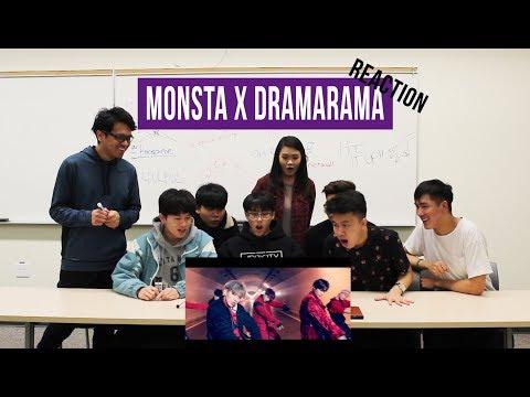 [APRICITY] 몬스타엑스(MONSTA X) - DRAMARAMA MV Reaction Video [GET WELL SOON WONHO]