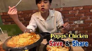 Papas'Chicken- Gà Ngon Chuẩn Hàn- Save&Share (Livestream Cùng Wanbo)