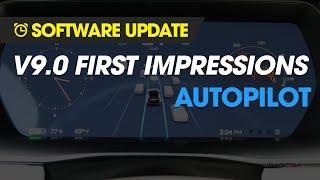 Software Update - Tesla V9 Autopilot Impressions!