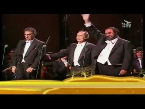 The Three Tenors - La donna e mobile (G.Verdi - Rigoletto)