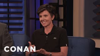 Tig Notaro Didn't Recognize Anne Hathaway - CONAN on TBS