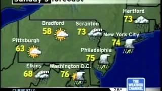 Local forecast (2005)