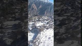 Auli rope way view 2018 | auli | rope way ride | winters