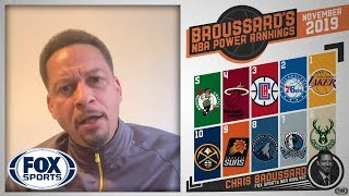 Chris Broussard's NBA Power Rankings | FOX SPORTS