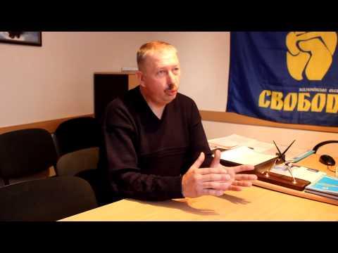 Лідер Чернівецького обласного ВО Свобода Віталій Мельничук