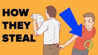 Ways Pickpockets Steal Your Money