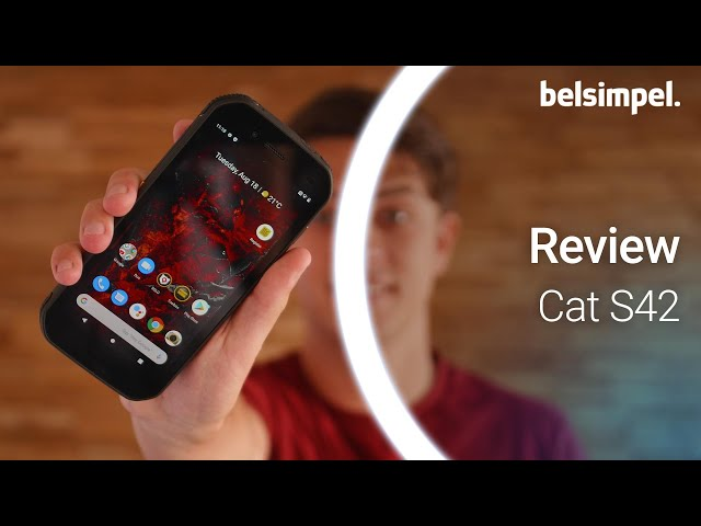 Belsimpel-productvideo voor de Cat S42