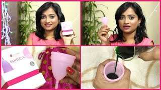 How to Use Menstrual Cup? How to insert & Remove it? Sharing my Own Experience about Menstrual Cup