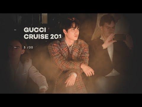 180530 Gucci Cruise 2019 Fashion Show KAI (Short Clip)