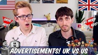 Advertisements! | British VS American | Evan Edinger & Jay Foreman