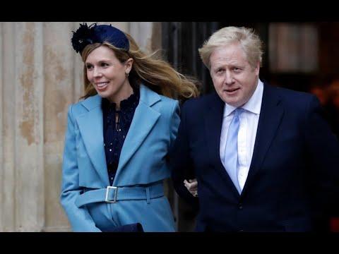 Boris Johnson's fiancee Carrie Symonds gives birth to baby boy