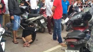 Cận cảnh cảnh sát hình sự khống chế 3 tên cướp xe máy ở Sài Gòn - VietNam News