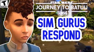 GURUS RESPOND:CONTROVERSY  OVER STAR WARS GAME PACK & SKIN TONES- SIMS 4 NEWS