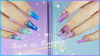 Blue Vs. Purple Polygel Kits