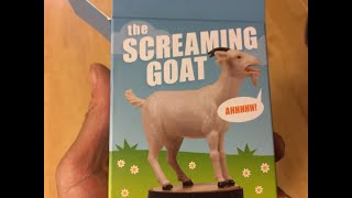 The Screaming Goat ornament Book & Figure Paperback April 5 2016  (07-26-2020) Loud annoying funny