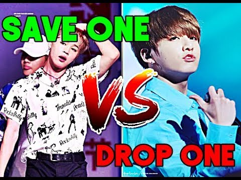 SAVE ONE, DROP ONE (BTS ver.)