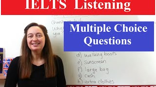 IELTS Listening Tips: Multiple Choice