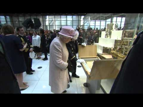 The Queen and The Duke of Edinburgh visit Lloyd's of London