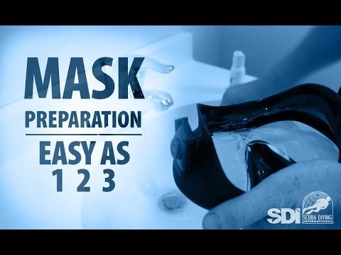 Scuba Mask Prep