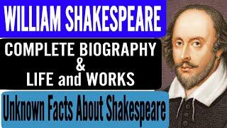 42 William Shakespeare   Complete Biography   Life & Works   UGC NET, KVS, NVS, DSSSB, RPSC