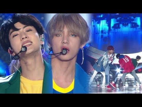 《POWERFUL》 BTS(방탄소년단) - MIC Drop @인기가요 Inkigayo 20171001