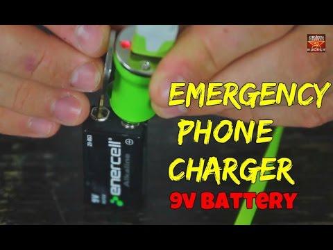 Како да си го наполниш телефонот со обична батерија од 9 волти?