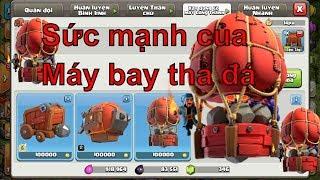 NMT | Clash of clans | Nâng cấp xưởng chế tạo lấy balloon đá - NEW Stone Slammer