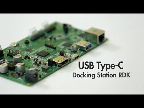 This video introduces Cypress's USB-C docking station reference design kit, based on the new EZ-USB HX3C hub controller. Notebook PC docking stations are a compelling application for USB Type-C and Power Delivery. The new USB Type-C standard enables on-cable docking, sharing SuperSpeed USB data, DisplayPort video and 100W of power over a single USB Type-C cable.