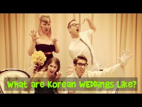 What are Korean Weddings Like?