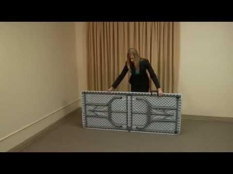 ShowGoer Folding Table   YouTube