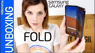 Samsung Galaxy Fold -el móvil PLEGABLE-