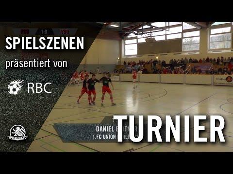 1.FC Union Berlin - Velje Boldklub (13. Range Bau Cup, U17 B-Junioren, Halbfinale) - Spielszenen | SPREEKICK.TV