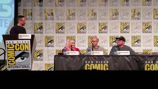 SDCC Harley Quinn Animated Talk Bane, Kaley Cuoco & Production San Diego Comic-Con 2019
