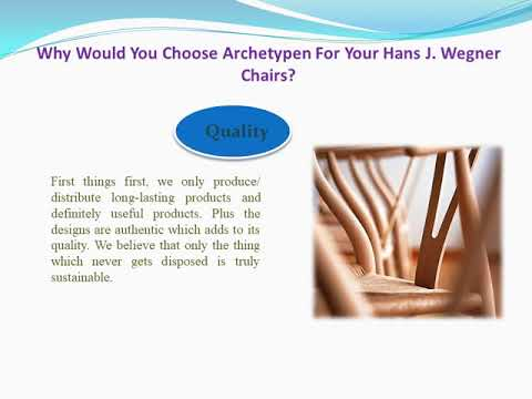 Why Choose Archetypen for your Ch24 Wegner chairs