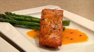 Uyen Thy's Cooking - Cá Hồi Sốt Chanh Dây