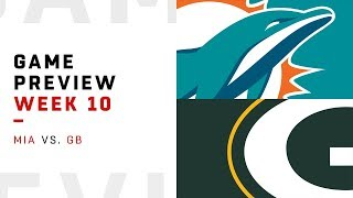 Miami Dolphins vs. Green Bay Packers   Week 10 Game Preview   NFL Playbook