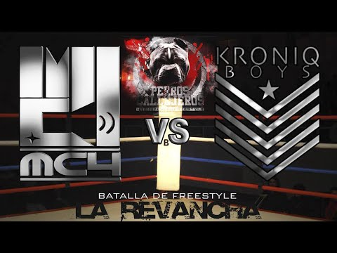 MC4 vs Silaba Kronica - Guerra de Punch