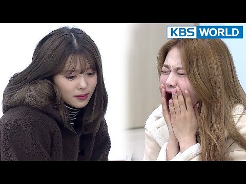 Semmi anticipates elimination...Her last wish puts Team Orange in sea of tears [The Unit/2018.01.25]
