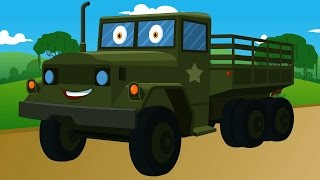 army truck | vehicles kids | autos for kids - YouTube
