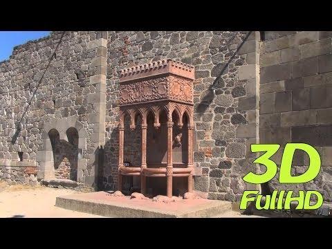 [3DHD] Walking Tour/Gyalogtúra: Royal Palace / Királyi palota, Visegrád, Hungary / Magyarország