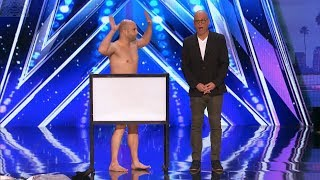 America's Got Talent 2017 Vinny Grosso Takes It Off For Howie Full Audition S12E05