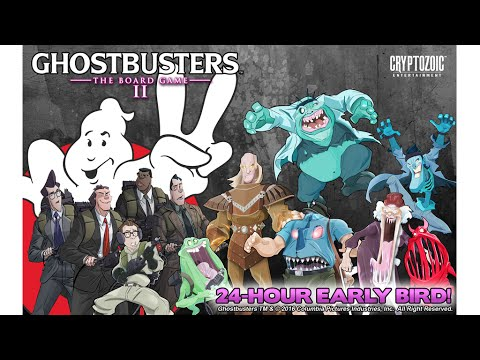 Ghostbusters: The Board Game II Kickstarter Video Starring Ernie Hudson