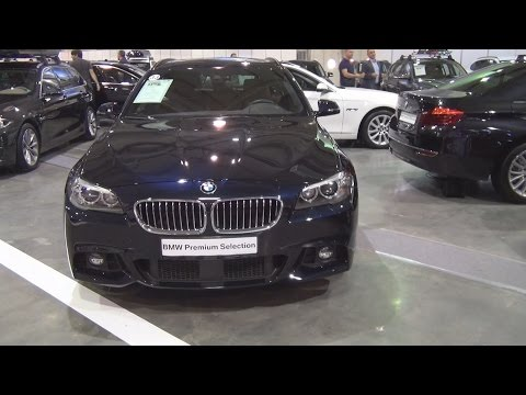 BMW 520d xDrive Touring (2015) Exterior and Interior in 3D