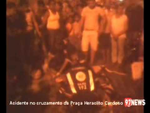 ACIDENTE NO CRUZAMENTO DA HERACLITO CARDOSO
