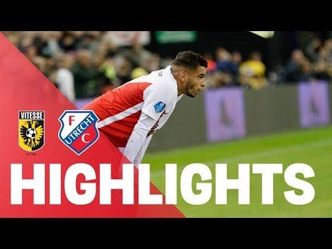 HIGHLIGHTS   Vitesse - FC Utrecht