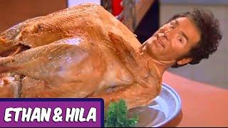 Hila's First Thanksgiving Dinner