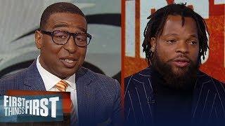 Michael Bennett on Carson Wentz criticism, Nick Foles & Kyler Murray   NFL   FIRST THINGS FIRST