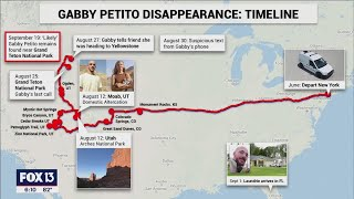 How the new 911 calls fit into the Gabby Petito timeline