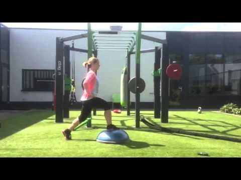 Workout of the week Bosu lunge